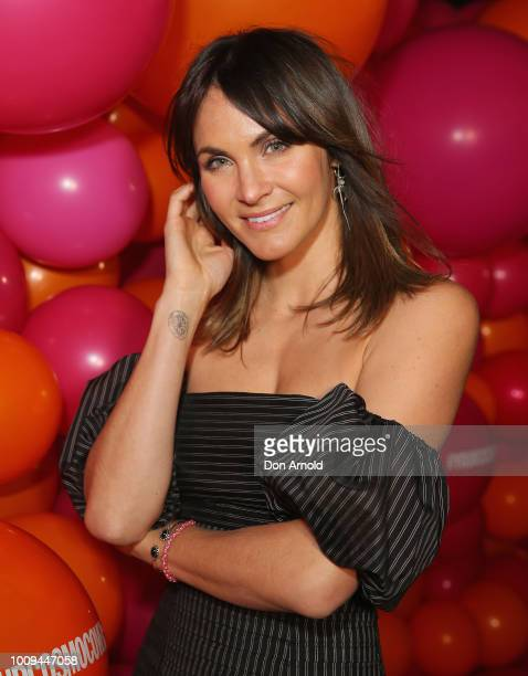 Laura Byrne attends the Your Cosmo Cover Event on August 2 2018 in Sydney Australia