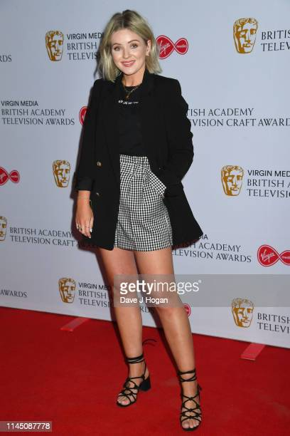 Laura Byrnes attends the British Academy Television and Craft Awards nominees party at Sea Containers on April 25 2019 in London England