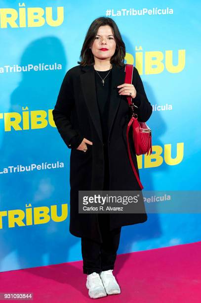 Laura Caballero attends 'La Tribu' premiere at the Capitol cinema on March 12 2018 in Madrid Spain