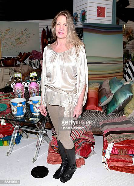 Laura Calhoun attends Park Avenue Garage Pop Up Garage Benefiting New Yorkers For Children at 38 West 26th Street on December 13 2012 in New York City