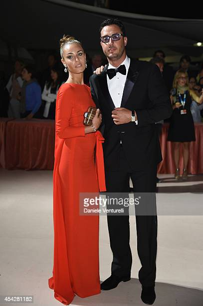 Laura Calvo and Lorenzo Tonetti attend the Opening Dinner during the 71st Venice Film Festival on August 27 2014 in Venice Italy