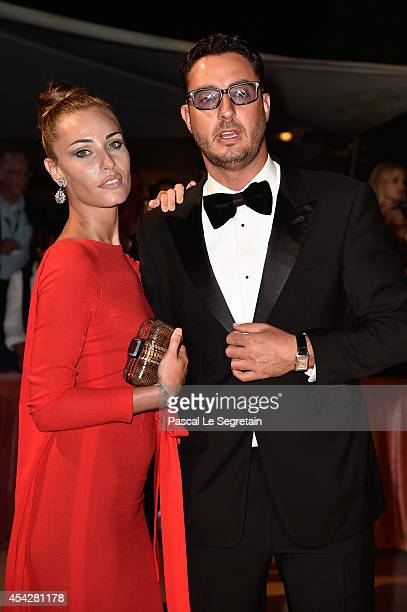 Laura Calvo and Lorenzo Tonetti attends the Opening Dinner during the 71st Venice Film Festival on August 27 2014 in Venice Italy