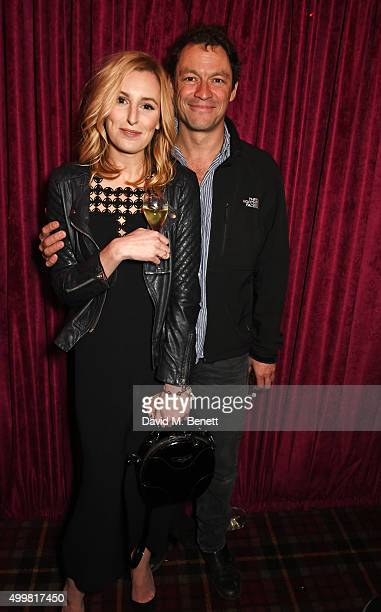 Laura Carmichael and Dominic West attend Charlotte Tilbury's naughty Christmas party celebrating the launch of Charlotte's new flagship beauty...