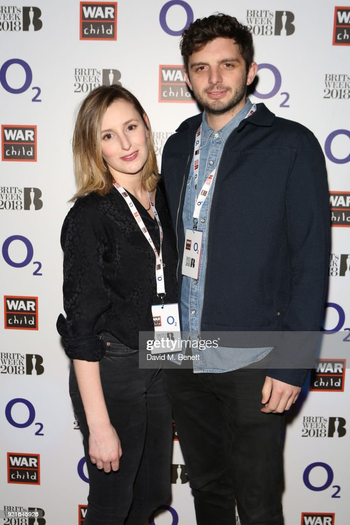 Laura Carmichael (L) and Michael Fox attend as Alt-J perform an intimate set at The Garage as part of the War Child BRITs Week together with O2 gigs, to support children affected by conflict at The Garage on February 20, 2018 in London, England.