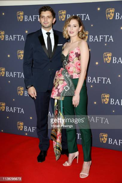 Laura Carmichael and Michael Fox attend the BAFTA Film Gala at the The Savoy Hotel ahead of the EE British Academy Film Awards this Sunday on...