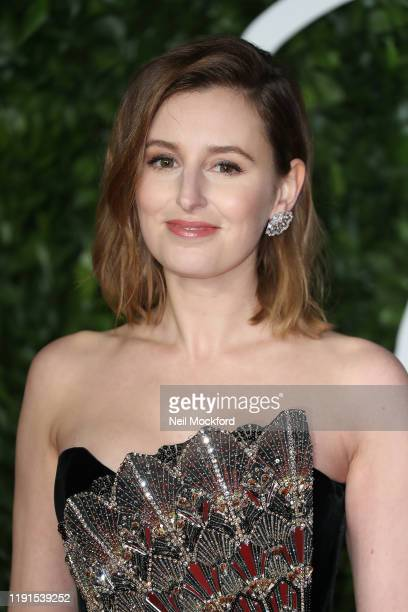 Laura Carmichael arrives at The Fashion Awards 2019 held at Royal Albert Hall on December 02 2019 in London England