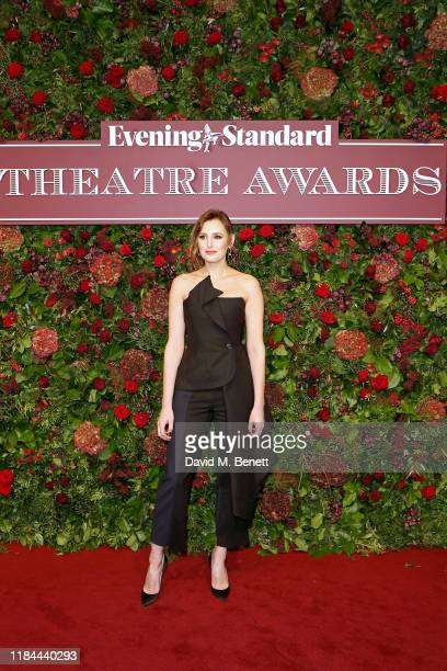 Laura Carmichael attends 65th Evening Standard theatre Awards in association with Michael Kors at the London Coliseum on November 24, 2019 in London,...
