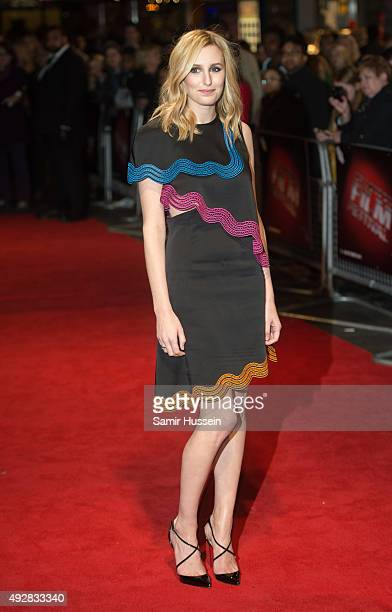 Laura Carmichael attends a screening of Burn Burn Burn during the BFI London Film Festival at Vue West End on October 15 2015 in London England