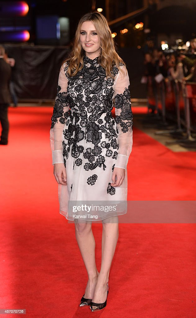 Laura Carmichael attends a screening of 'Madame Bovary' during the 58th BFI London Film Festival at Odeon West End on October 11, 2014 in London, England.