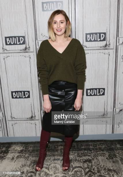 Laura Carmichael attends Build Series to discuss the miniseries The Spanish Princess at Build Studio on April 29 2019 in New York City