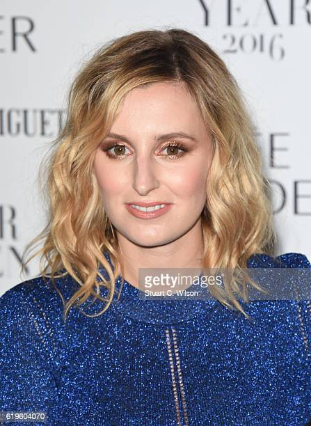 Laura Carmichael attends Harper's Bazaar Women Of The Year Awards at Claridge's Hotel on October 31 2016 in London England