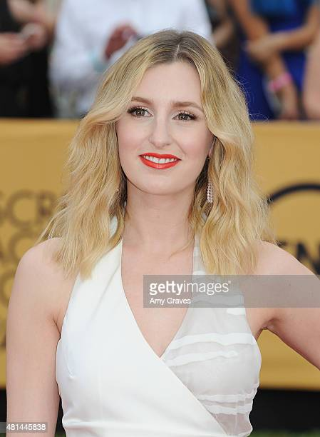 Laura Carmichael attends the 21st Annual Screen Actors Guild Awards at the Shrine Auditorium on January 25 2015 in Los Angeles California