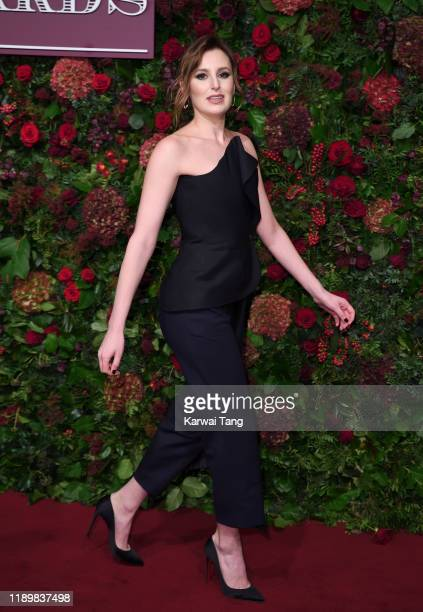 Laura Carmichael attends the 65th Evening Standard Theatre Awards at London Coliseum on November 24 2019 in London England