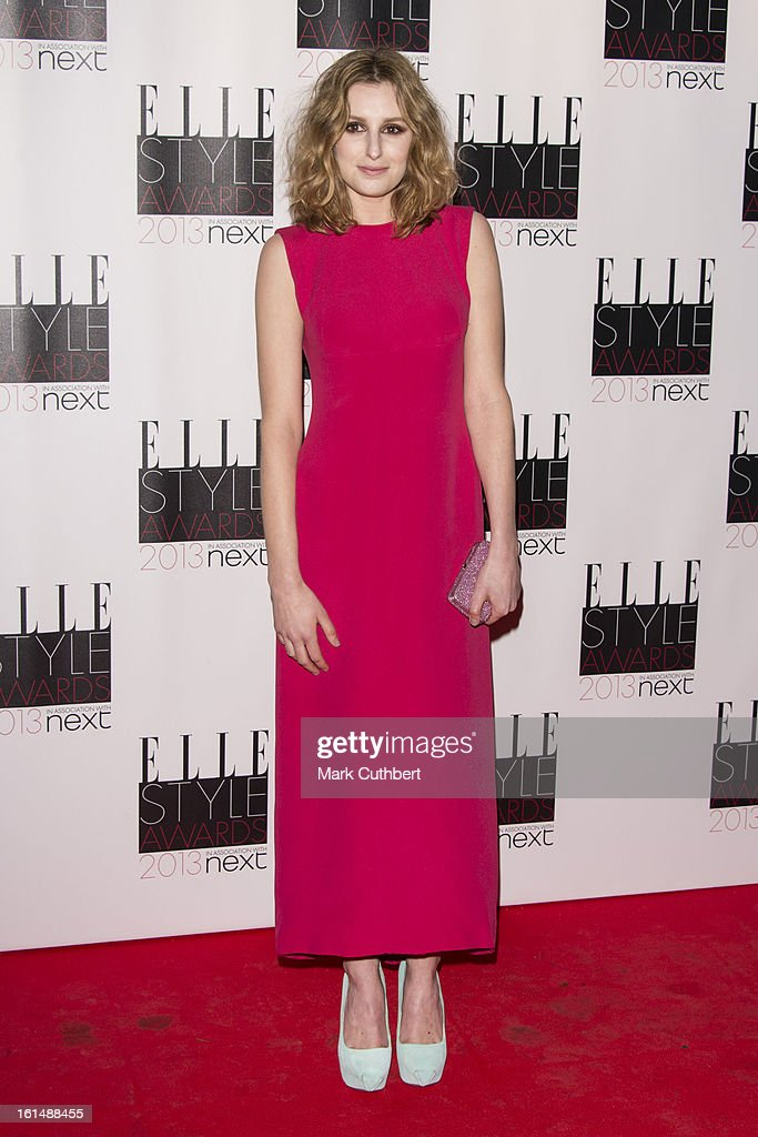 Laura Carmichael attends the Elle Style Awards on February 11, 2013 in London, England.