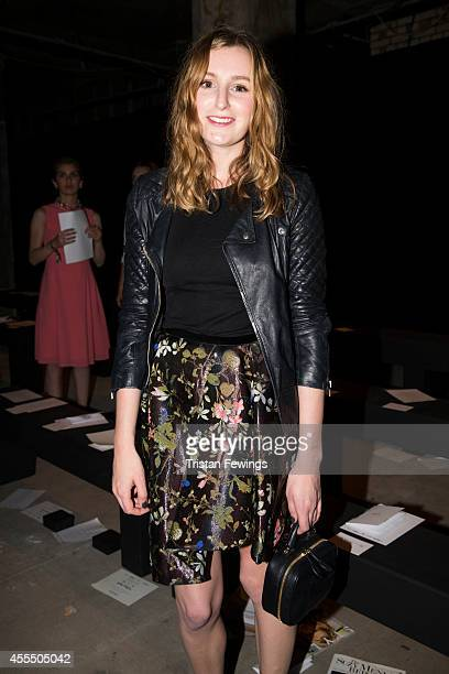 Laura Carmichael attends the Erdem show during London Fashion Week Spring Summer 2015 at on September 15 2014 in London England