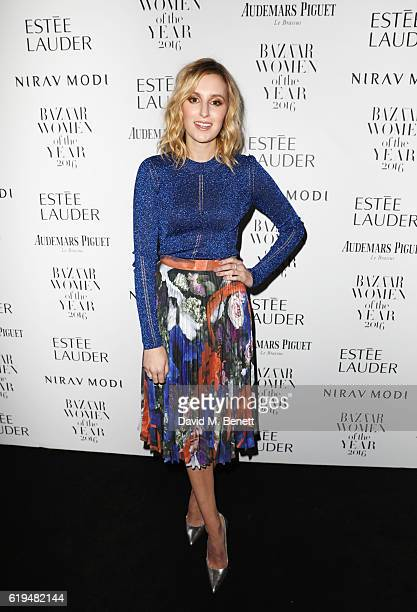 Laura Carmichael attends the Harper's Bazaar Women of the Year Awards 2016 at Claridge's Hotel on October 31 2016 in London England