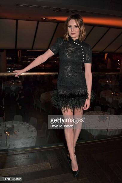 Laura Carmichael attends the launch of the MR PORTER charitable fund The MR PORTER Health In Mind Fund at Quaglino's on October 10 2019 in London...