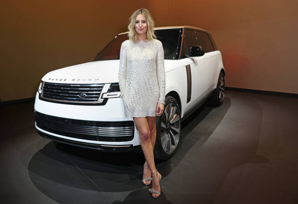 GBR: Land Rover Reveals New Range Rover At The Royal Opera House In London