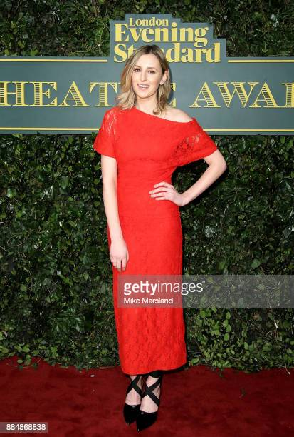 Laura Carmichael attends the London Evening Standard Theatre Awards at Theatre Royal on December 3 2017 in London England
