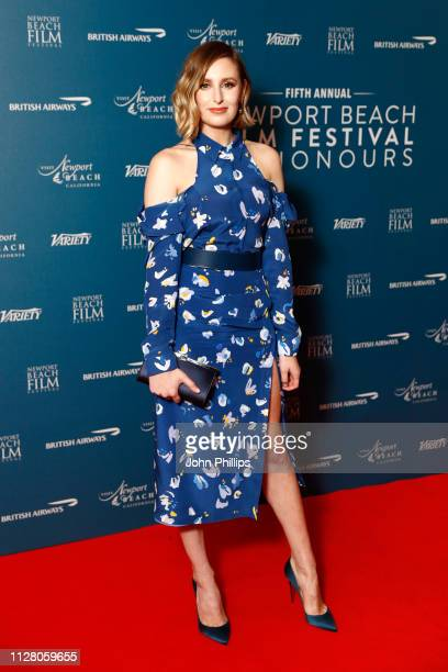 Laura Carmichael attends the Newport Beach Film Festival UK honours event at The Langham Hotel on February 07 2019 in London England