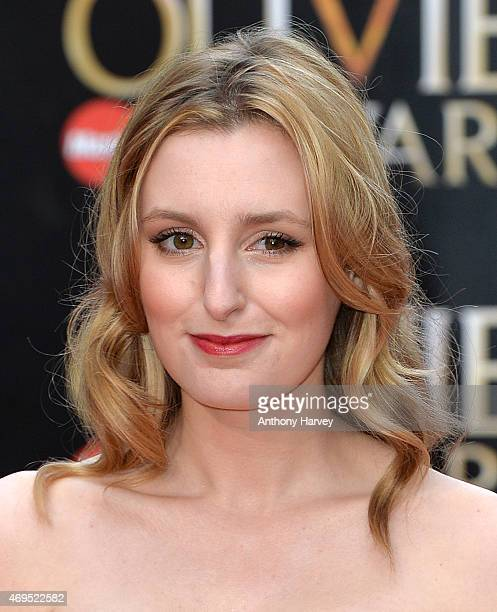 Laura Carmichael attends The Olivier Awards at The Royal Opera House on April 12 2015 in London England