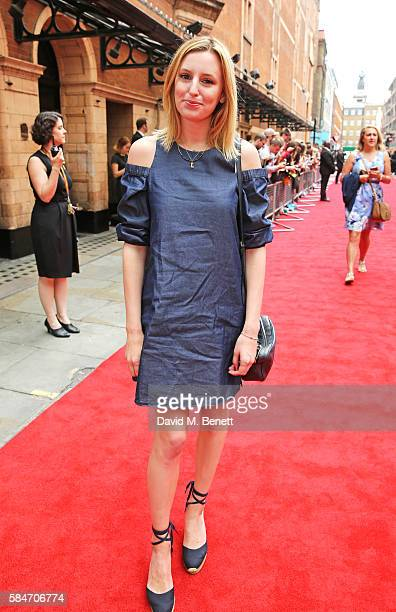 Laura Carmichael attends the press preview of 'Harry Potter The Cursed Child' at The Palace Theatre on July 30 2016 in London England