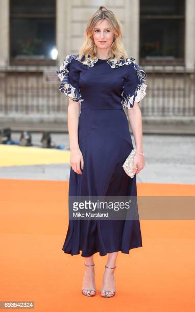 Laura Carmichael attends the preview party for the Royal Academy Summer Exhibition at Royal Academy of Arts on June 7 2017 in London England