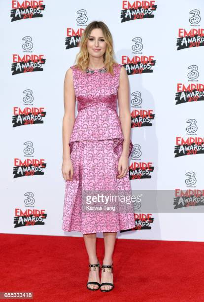 Laura Carmichael attends the THREE Empire awards at The Roundhouse on March 19 2017 in London England