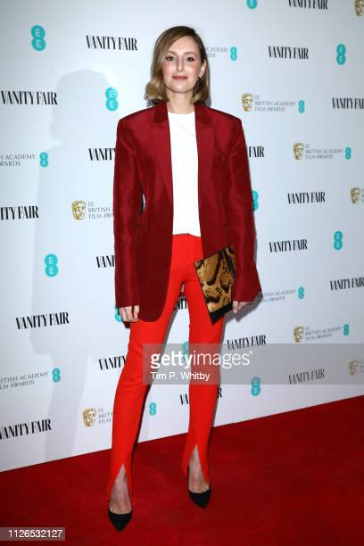 Laura Carmichael attends the Vanity Fair EE Rising Star Party at The Baptist on January 31 2019 in London England