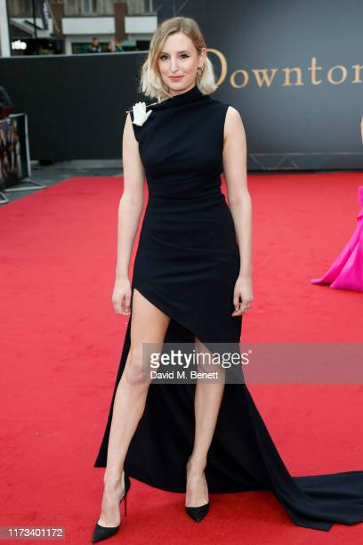 Laura Carmichael attends the World Premiere of Downton Abbey at Cineworld Leicester Square on September 09 2019 in London England