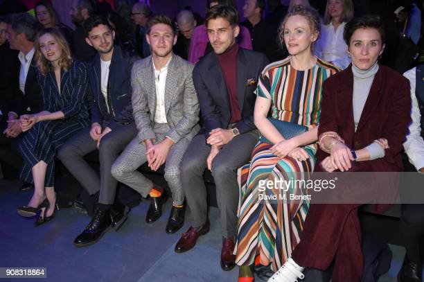 Laura Carmichael Michael Fox Niall Horan Johannes Huebl Maxine Peake and Vicky McClure wearing Paul Smith attend the Paul Smith AW18 Men's and...