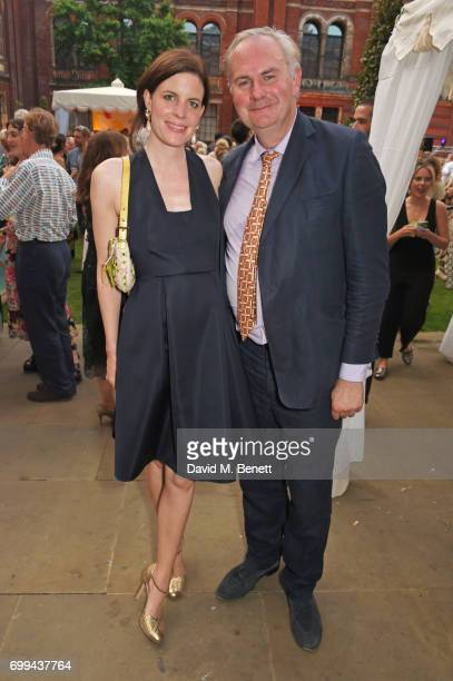 Laura Cathcart and William Cash attend the 2017 annual VA Summer Party in partnership with Harrods at the Victoria and Albert Museum on June 21 2017...