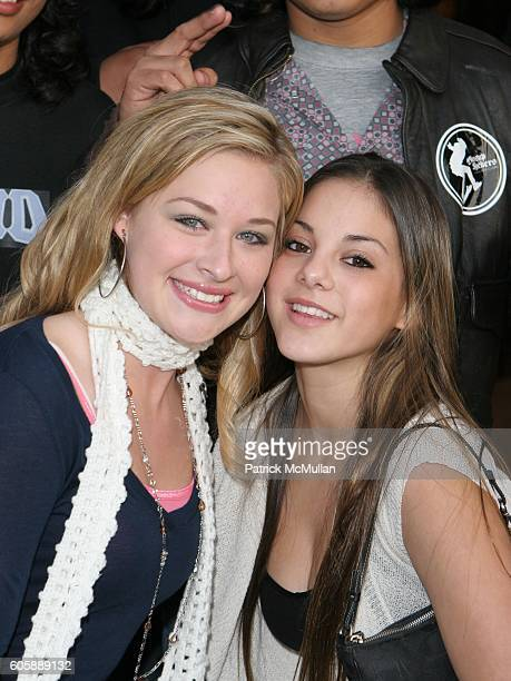 Laura Cellner and Jessica Steinbaum attend West Coast Screening of Wassup Rockers at American Cinematheque at Aero Theatre on April 24 2006 in Santa...