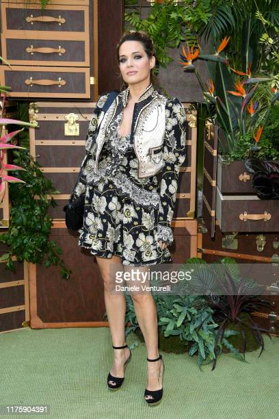 Laura Chiatti attends the Etro fashion show during the Milan Fashion Week Spring/Summer 2020 on September 20 2019 in Milan Italy