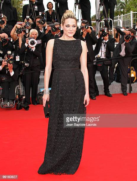 Laura Chiatti attends the Opening Night Premiere of 'Robin Hood' at the Palais des Festivals during the 63rd Annual International Cannes Film...