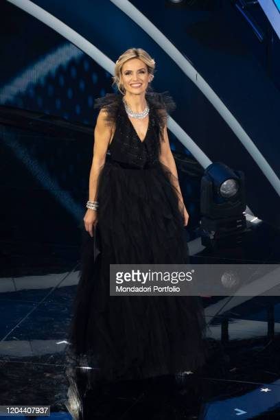 Laura Chimenti at the second evening of the 70 Sanremo Music Festival Sanremo February 5th 2020