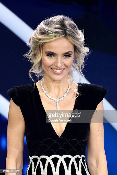 Laura Chimenti attends the 70° Festival di Sanremo at Teatro Ariston on February 05 2020 in Sanremo Italy