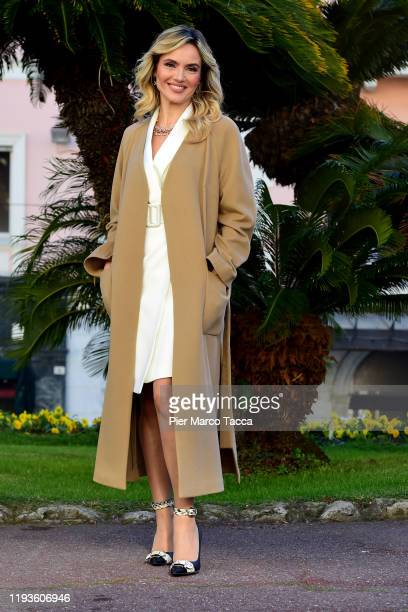 Laura Chimenti attends the 70 Sanremo Music Festival Press Conference on January 14 2020 in Sanremo Italy