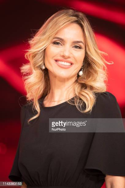 Laura Chimenti during the Italian TV show quotBallando Con Le Stellequot at RAI Auditorium on May 11 2019 in Rome Italy