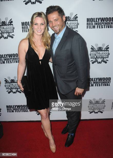 Laura Clear and Sabastian Wolski attend the 17th Annual Hollywood Reel Independent Film Festival Award Ceremony Red Carpet Event held at Regal...