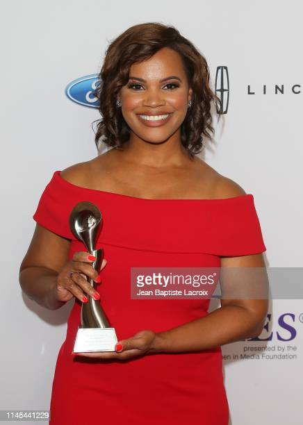Laura Coates attends the 44th Annual Gracies Awards hosted by The Alliance for Women in Media Foundation at the Beverly Wilshire Four Seasons Hotel...