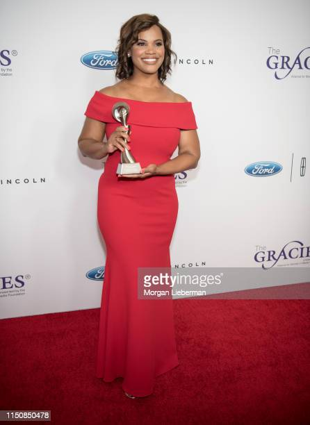 Laura Coates attends The Alliance For Women In Media Foundation's 44th Annual Gracie Awards at the Beverly Wilshire Four Seasons Hotel on May 21 2019...
