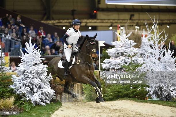 Laura COLLETT of England riding Cooley Again during the Cross Indoor sponsored by Tribune de Genève Rolex Grand Slam Geneva 2017