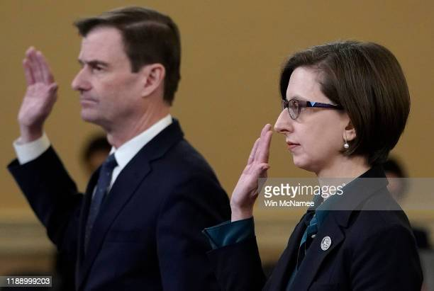 Laura Cooper deputy assistant secretary of defense for Russia Ukraine and Eurasia and David Hale under secretary of state for political affairs are...