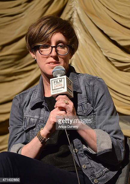 Laura Coxson attends the Film Independent at LACMA Screening and QA of Iris at Bing Theatre At LACMA on April 27 2015 in Los Angeles California