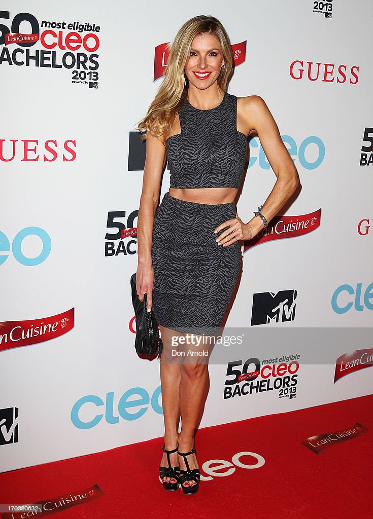 Laura Csortan arrives at the CLEO Bachelor of the Year Awards on June 12, 2013 in Sydney, Australia.