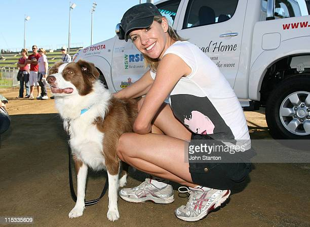 Laura Csortan during RSPCA Million Paws Walk May 20 2007 at Olympic Park in Sydney NSW Australia