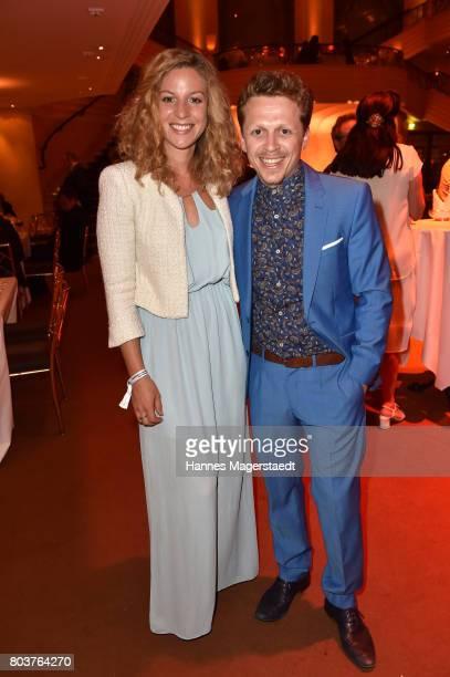Laura Cuenca Serrano and her boyfriend Ferdinand SchmidtModrow attend the Bernhard Wicki Award 2017 during the Munich Film Festival 2017 at...