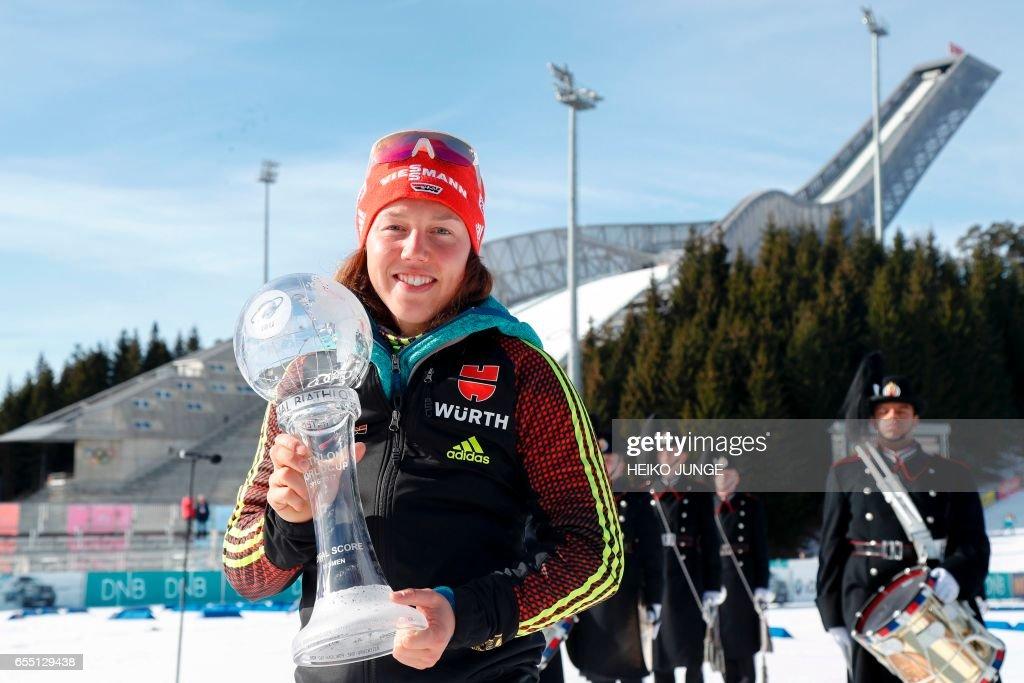 BIATHLON-WORLD-CUP : News Photo