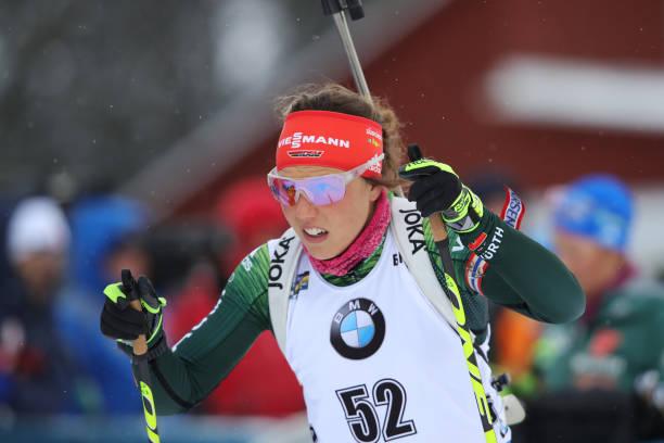 SWE: IBU Biathlon World Championships - Women's Sprint